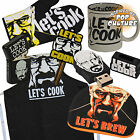 Breaking Bad Gift Range - Lets Cook - Oven Glove, Apron, Mug, Lighter, USB Drive