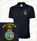 HMS Narwhal Embroidered Polo Shirts