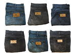 MENS TEXAS STRETCH WRANGLER JEANS PANTS ZIP FLY STRAIGHT LEG 8 COLOURS BNWOT