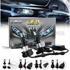 2PCS H4 H11 9005/9006 H7 LED Chips 32W 6000LM Headlight Bulb Conversion Kit