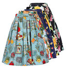 2017 Womens Pleated Maxi Long Beach Boho Skirt Vintage Casual Cotton Lady Skirts