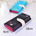 New Lady Women Leather Clutch Wallet Long Card Holder Case Purse Handbag Soft