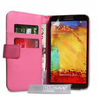 Yousave Accessories PU Leather Wallet Phone Cover Case For Samsung Galaxy Note 3