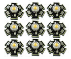 Lot 2/10/50/100x 3W Warm White 20mm Star Base LED bead Emitter Light Part 3500K