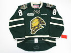 PATRICK KANE LONDON KNIGHTS AUTHENTIC GREEN OHL CCM EDGE 2.0 7287 HOCKEY JERSEY