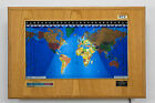 Geochron Geochron Boardroom Model World Wall Clock