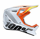 2017 100% STATUS DOWNHILL MTB HELMET D-DAY WHITE mountain bike cycle bmx NEW