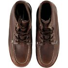 Dickies Illinois Moc Toe Work Boots Brown Tumble Leather