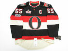KARLSSON OTTAWA SENATORS THIRD NHL 100th ANNIVERSARY REEBOK EDGE 7231 JERSEY