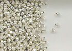 925 Sterling Silver  3.3mm Bicone  Spacer Beads, Choice of Lot Size 10-100