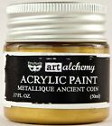 Finnabair Prima ART ALCHEMY METALLIQUE Acrylic Paint CHOOSE from 20 Rich Colors
