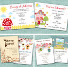 Personalised Change of Address New Home Notecards Notelets