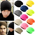 Unisex Cap Ski Crochet Knitting Cap Beanie Hat Cotton Caps For Womens Mens HOT