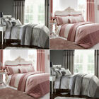 Catherine Lansfield Gatsby Sequin Duvet Cover/Bedspread/Curtains Bedding Set