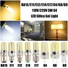 Silica Gel 5W G4/G8/G9/E11/E12/E14/E17/BA15 64 LED 3014 SMD Light Bulb