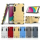 Dual Layered Hybrid Armor Shockproof KickStand Soft Rubber Case Cover For OPPO