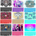 Ethnic Design Pretty Painting Hard Rubberized Case Cover for Macbook Laptop Skin