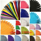 Colorful Nylon 3# Invisible Zippers 20 inch (50cm) Tailor Sewing Craft 20 Color