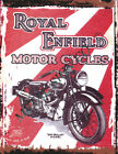 ROYAL ENFIELD 500 BULLET METAL SIGN  RETRO VINTAGE STYLE,pub,workshop,garage,