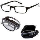 Folding Reading Glasses with Carry Case Foldable Eyeglass 1.25 1.50 1.75 2.00