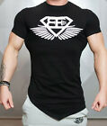 New Men Collection Sport Gym T-Shirt Bodybuilding Fittness Cotton Casual Shirt