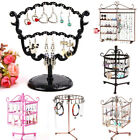 1x Earrings Ear Studs Necklace Jewelry Display Rack Metal Stand Holder Organizer