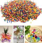 Water Beads Aqua Gems Bio Gel Balls Crystal Soil Wedding Vase Decoration 1cm UK