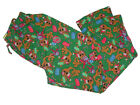 NEW SCOOBY-DOO CHRISTMAS GIFTS GREEN COTTON PAJAMA LOUNGE PJ SLEEP PANTS S, M