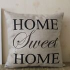 Hot Vintage Home Decor Cotton Linen Pillow Case Sofa Waist Throw Cushion Cover