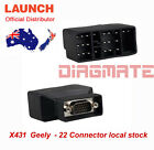 Original LAUNCH X431 Geely-22 for PRO3 PRO SCANPAD PAD2 PAD IDIAG MASTER AU stoc