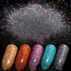 7g Holographic Laser Glitter Powder Nail Art Shiny Ultra-thin Gold Blue Black