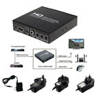Scart to HDMI Video Converter Box 1080P Upscaler With 3.5mm and Coaxial Audio