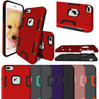 New Shockproof Hybrid Protect Rubber Hard Cover Case For Apple iPhone 7 7 Plus