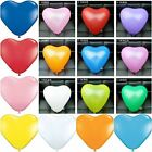 "100 X10"" ❤ MIX HEART BALLOONS LOVE BALOONS Wedding Party LOVE Valentine Birthday"