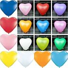"100 X10"" ❤ MIX HEART BALLOONS LOVE BALOONS Wedding Party 100% Valentine Birthday"