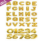 16 Inch 41cm Foil A-Z Letter Balloon Air Fill Age 1-101 Name Number Message NUMB
