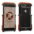 Ultra Slim Light Timber Aluminum Element Shockproof Case Cover For Iphone 7/plus