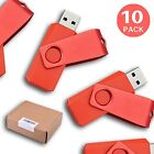 LOT 10 20 50 100PCS 1GB Red Memory Sticks USB Flash Pen Drive Thumb Drive U Disk