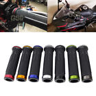"NEW MOTORCYCLE RUBBER GEL HAND GRIPS FOR 7/8""HANDLEBAR HONDA KAWASAKI DUCATI US $10.26 USD on eBay"