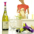 Novelty Lily Flower 2 in 1 Silicone Wine Pourer Bottle Stopper Kitchen Tool
