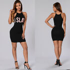 New Summer Beach Evening Party Cocktail Sleeveless Mini Dress For Womens Ladies