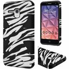 For Alcatel OneTouch Flint IMPACT TUFF HYBRID Protector Case Skin Phone Cover
