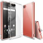 Sony Xperia Z5 Compact Case, Ringke [FUSION] Shockproof Protective Raised Bezels