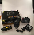 Nikon D D7200 24.2 MP SLR-Digitalkamera - Schwarz (Kit m AF-S DX 18-105mm...