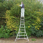 Henchman 3 leg adjustable tripod ladder ideal for very uneven or sloping terrain