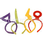Retro 90s Fancy Dress Shaped Headbands Tubbies Felt Hair Band Telly Teletubby