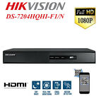 HIKVISION CCTV DVR 4CH 8CH 16CH CAMERA VIDEO RECORDER HDMI P2P TURBO HD 1080P