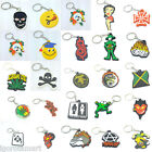 Betty Boop / Smiley / Rasta / Anarchy / Yinyang Soft  Rubber Keychain Keyring $3.06 USD