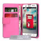 Yousave Accessories PU Leather Flip Wallet Folio Phone Case Cover For The LG L90