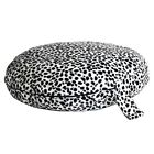 Dirty Dog Dalmatian Dog Bed Circular Pet Bed with Orthopedic Rebound Foam